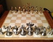 As seen on Reddit -- Nuts & Bolts Hardware chess set -- Perfect for Christmas