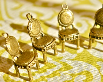 Vintage Chair Charm- Set of 4  -80-