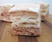 Peanut Butter Nutella  Marshmallows - 1 dozen Gourmet homemade marshmallows