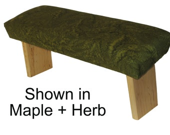 Folding Prayer Bench - Maple Meditation Bench