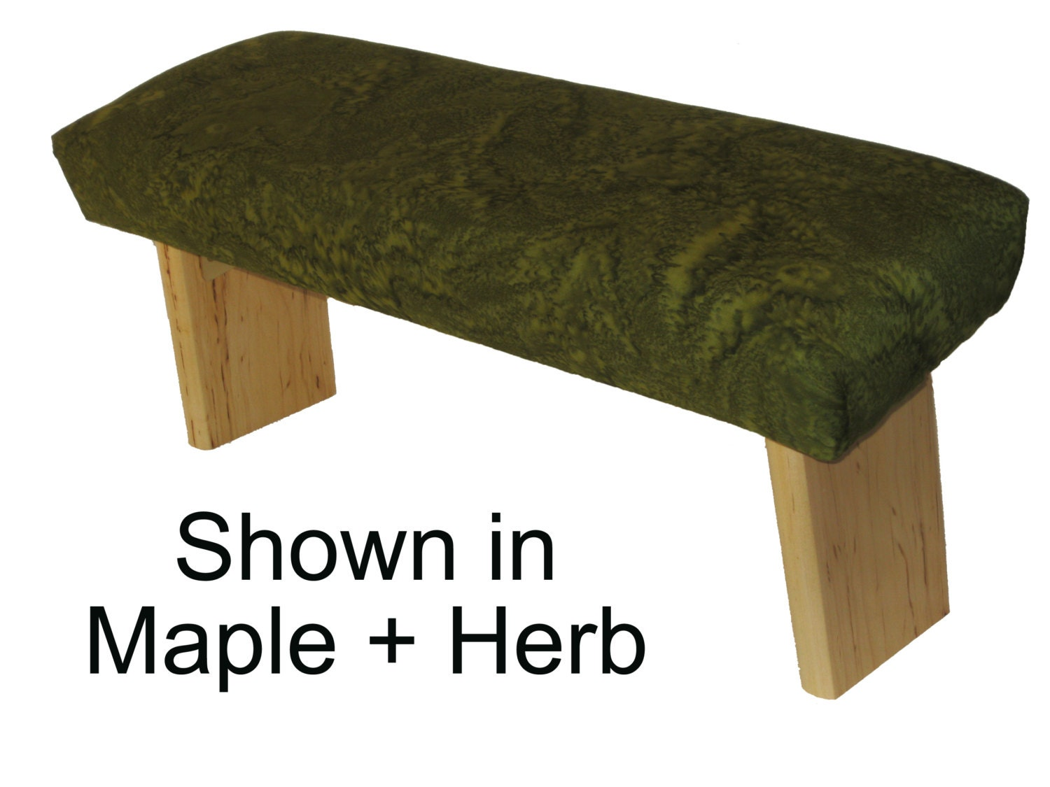 Folding Prayer Bench Maple Meditation Bench