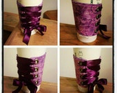 Corset Coffee Cozy