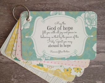 Scripture memory cards for new moms