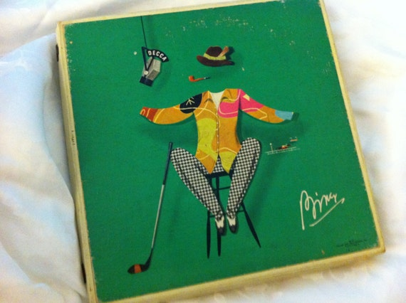 Bing Crosby A Musical Autobiography Presented on DECCA 5 Record Set, Bing Crosby Record, Jazz Record Set