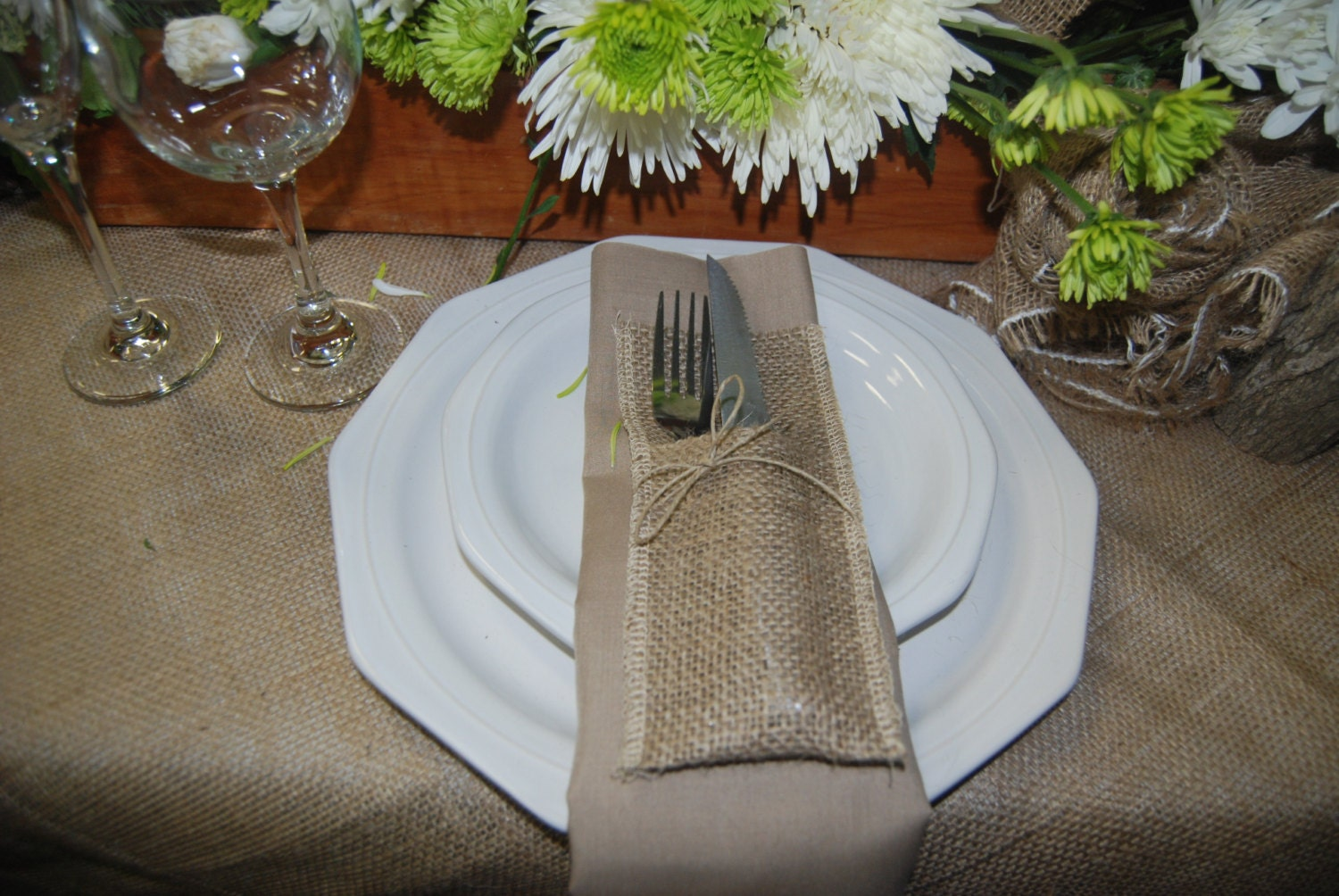 Burlap Table Cloth Rustic Wedding Rustic By Thefrontporch1950