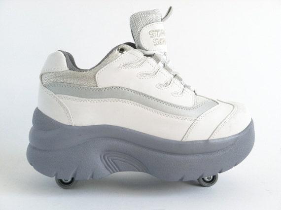 90's Platform Roller Sneakers