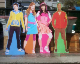Standees, Cut Outs. Life Size Poster. Personalized to your theme. Fresh Beat, PJ Mask