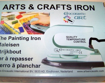 Brand New Arts & Crafts Factory Iron with Adjustable Temperature Dial Warranty