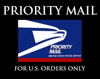 Priority Mail Upgrade for Domestic Orders Only