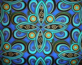 Art Deco designs  in bold, rich colors