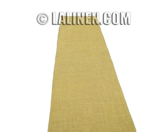 Natural Hessian Burlap Table Runner. 12 Inches X 58 Inches