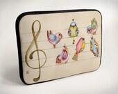 Birds - Laptop Case - Laptop Bag - Laptop Sleeve