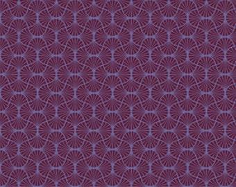 Joel Dewberry heirloom Empire weave Garnet 0,5 m pure cotton fabric