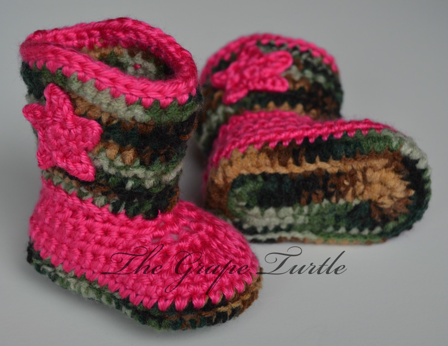 Free Crochet Patterns For Baby Girl Bonnets : Crochet Baby Cowboy Boots www.galleryhip.com - The ...