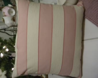 country chic pillow sleeve/cover