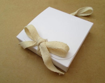 White Box, White Gift Box - Set of 20
