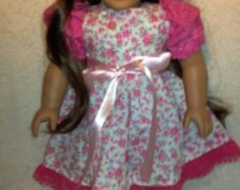 Pink Floral Party Frock