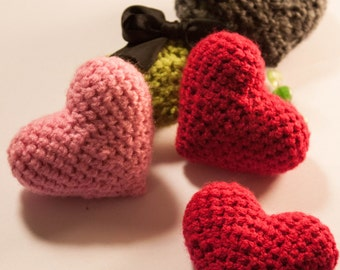 Crochet Love Heart Pattern