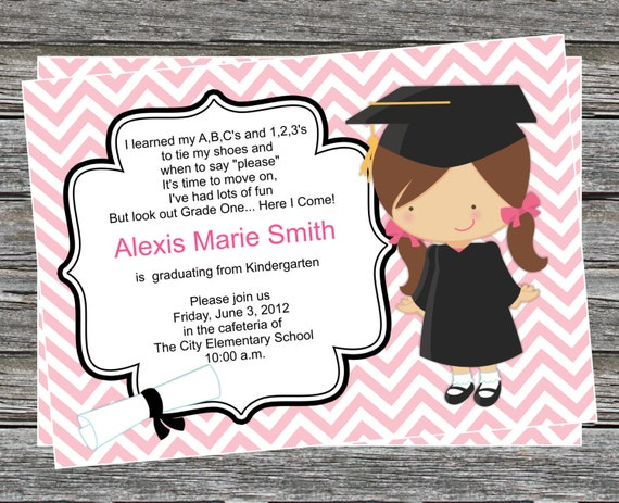 Pre-K Graduation Invitation Templates