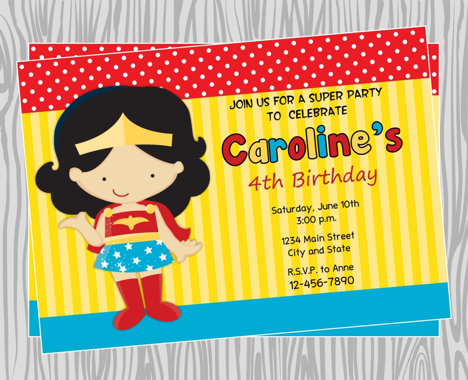 Justice League Birthday Invitations for perfect invitation template