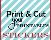 Stickers from Printable File