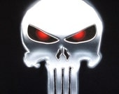 Custom Airbrushed Punisher T-shirt