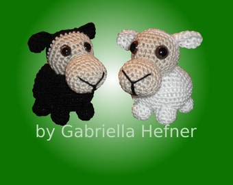 Amigurumi pattern mini Sheep