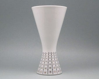 Retro porcelain vase by Schumann Arzberg (Bavaria, Germany)