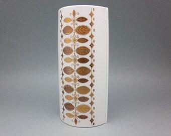 Rare vintage bavarian porcelain vase by Alka Kunst (Germany)
