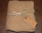 Primitive Grungy Coffee Stained Cheesecloth -  3  Yards
