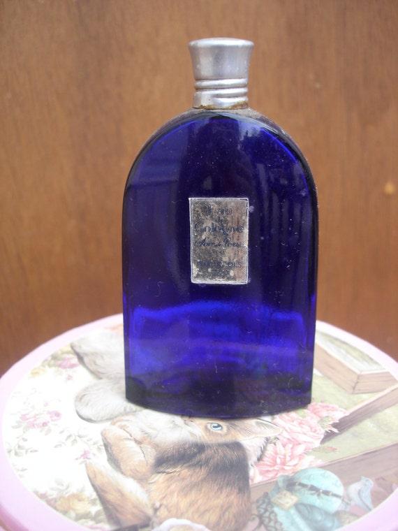 soir de paris rare scent eau de cologne bourgeois cobalt blue. Black Bedroom Furniture Sets. Home Design Ideas