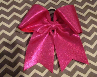 Hot Pink Mystic Cheer Bow
