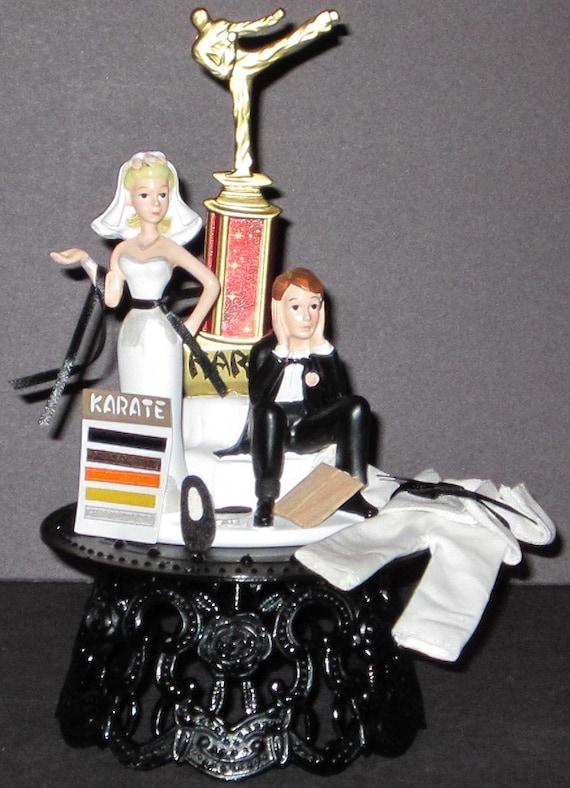 Karate Cake Topper Wedding