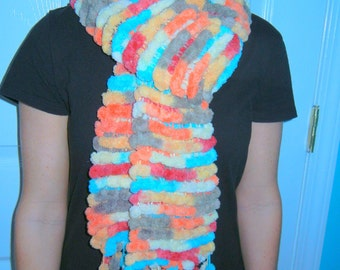 Super Soft Pompom Scarf
