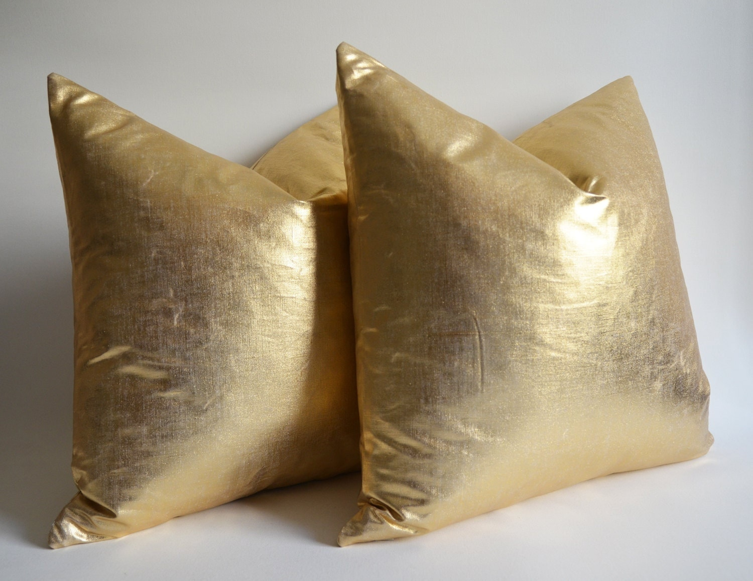 ON SALE -Pillow Cover Gold ? gold pillow ? gold throw pillows ? gold euro shams -gold bolster ...