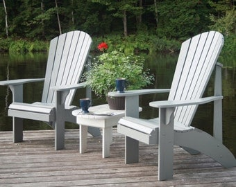 Grandpa Adirondack Chair Plans