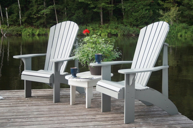 Grandpa adirondack chair plans for Chaise adirondack bois