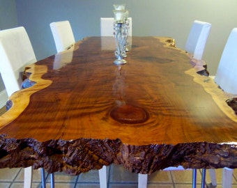 Live Edge Dining Table Live Edge Table Wood Slab Dining