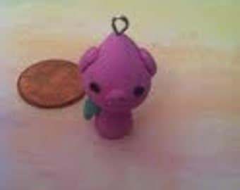 handmade Polymer Clay Pink Peach-Piggie