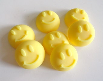 Happy Face Soap, Smiley Face Soap, Childrens Soap, Scented Soap, Handcrafted Soap, Childrens Gift