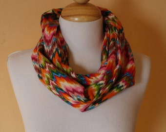 Pink Missoni Infinity Scarf