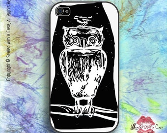 Owl design - iPhone 4/4S 5/5S/5C/6/6+ and now iPhone 7 cases!! And Samsung Galaxy S3/S4/S5/S6/S7