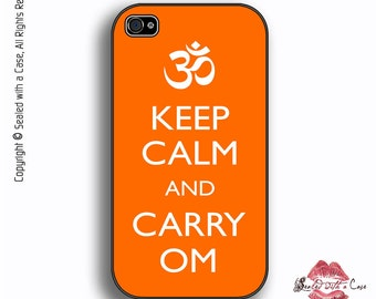 Keep Calm and Carry OM - iPhone 4/4S 5/5S/5C/6/6+ and now iPhone 7 cases!! And Samsung Galaxy S3/S4/S5/S6/S7