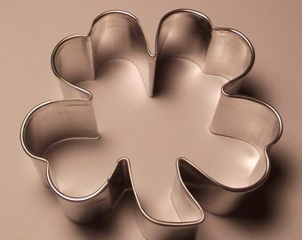 "3"" Shamrock/Four Leaf Clover Cookie Cutter"