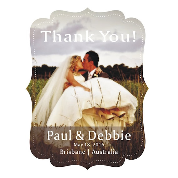 Cheap Wedding Thank You Gifts: Wedding Vintage Frame Thank You Magnet Gift Favors Unique And