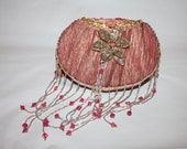 SALE - Whimsical Victorian Purse // Beaded Fringe