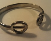 English Spur Bracelet- Open Circle Cuff