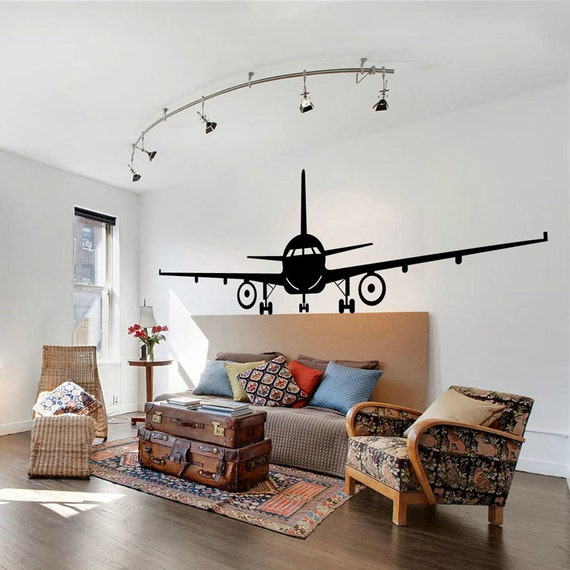Airplanes wall decals