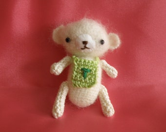 Baby Teddy bear amigurumi