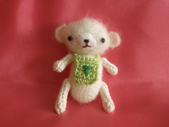 Amigurumi Baby Bear : Items similar to Baby Teddy bear amigurumi on Etsy